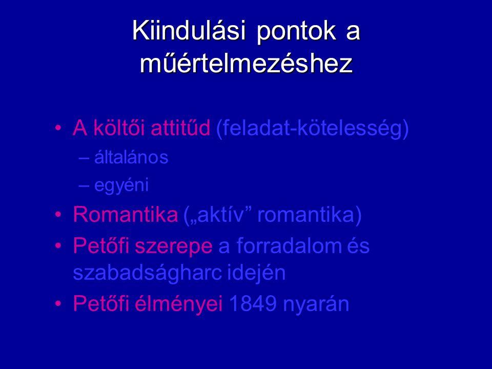utolsó vers apokaliptikus vízió veszteségélmény büntetéskép őrült hírmondó szerkezet poétikai eszközök nyelvi/nyelvtani szint
