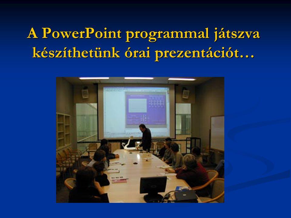Hol használhatjuk a PowerPointot a magyarórán?