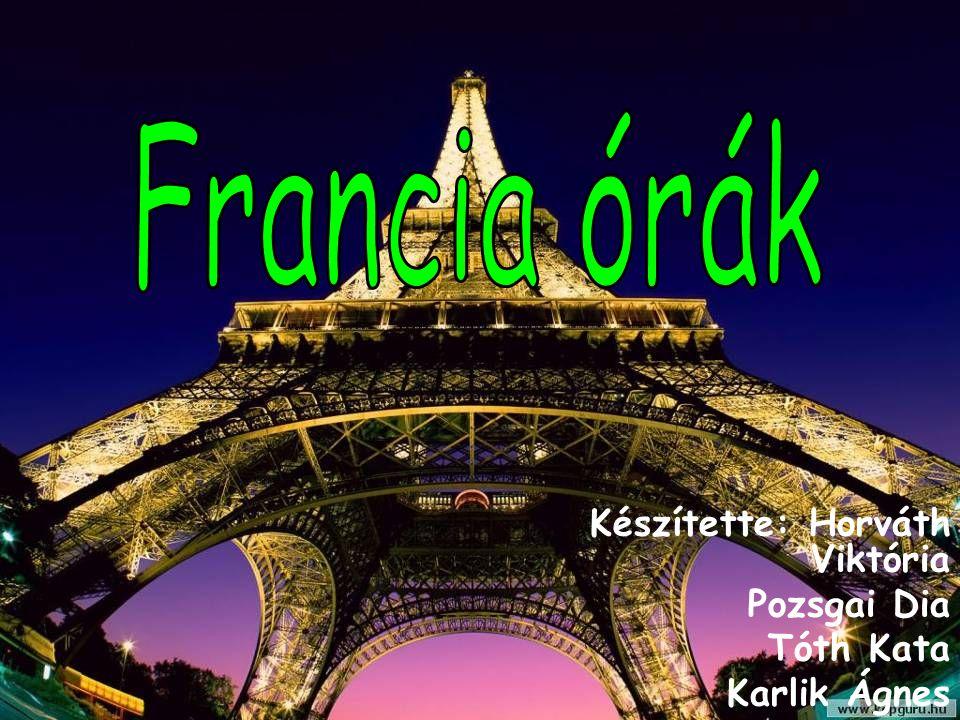 Francia órák év elején oFoFrancia órákon sokszor játékosan teltek.