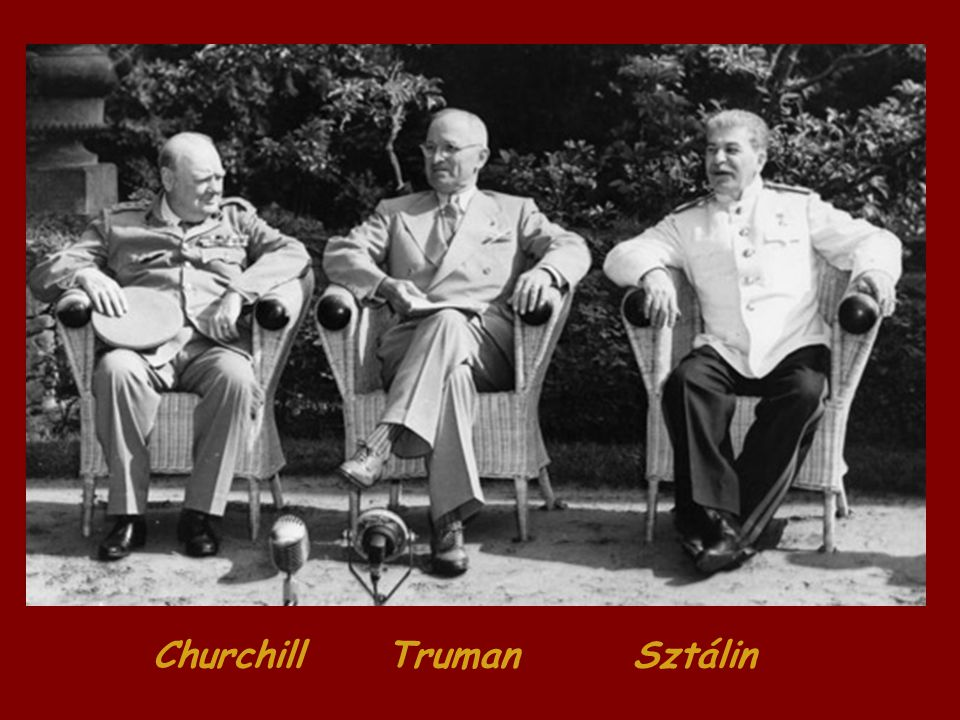 Churchill Truman Sztálin