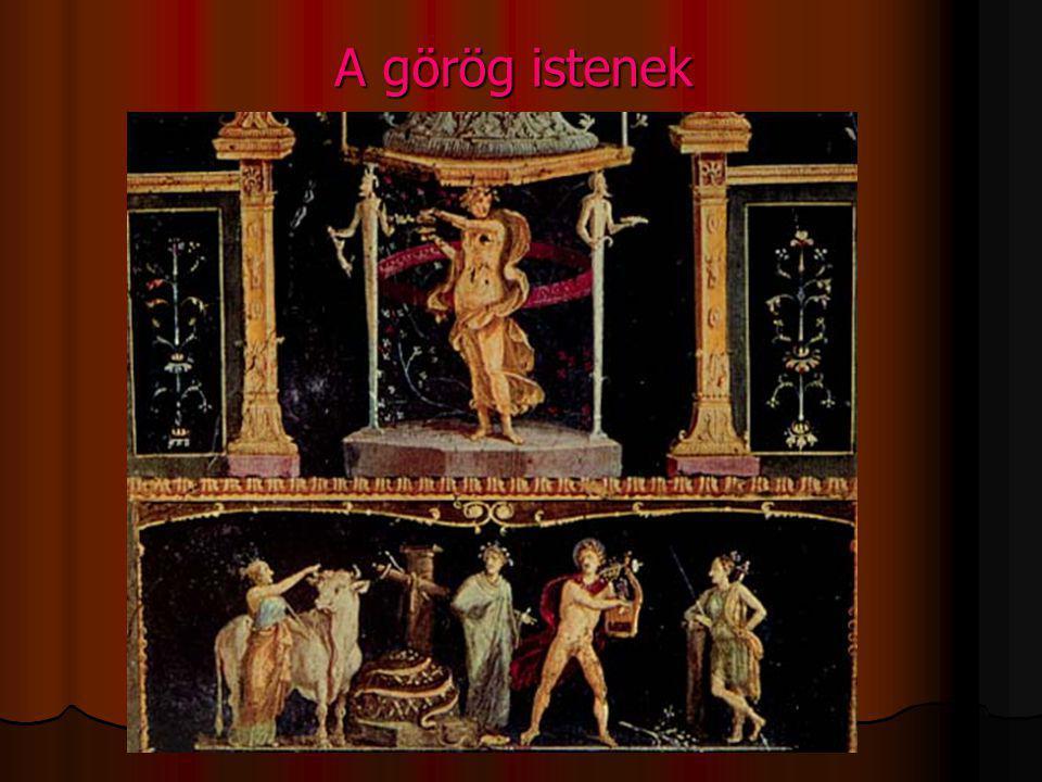A görög istenek