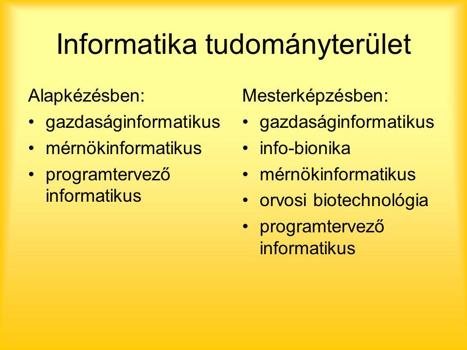 Pályakörök (forrás: http://eletpalya.munka.hu/tudomanyok )http://eletpalya.munka.hu/tudomanyok Mindegyiknél részletes leírás található az alábbiak szerint: rövid leírás a munkaterületről jellemző tevékenységek munkakörnyezet, pszichikai tényezők lehetőségek, változások a közeljövőben foglalkozásjellemzők: képességek, munkamódok