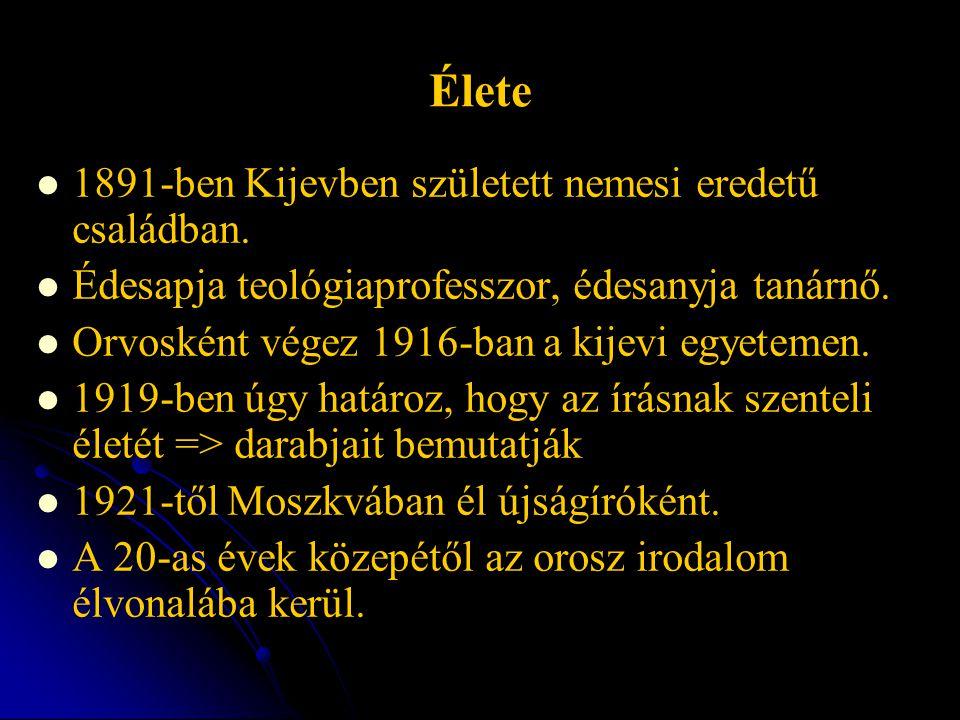 Élete 1891-ben Kijevben született nemesi eredetű családban. Édesapja teológiaprofesszor, édesanyja tanárnő. Orvosként végez 1916-ban a kijevi egyeteme