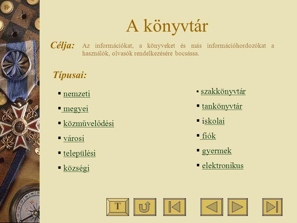 Katalógus: egy könyvtár állományát képező dokumentumok bibliográfiai leírásainak meghatározott szempontok szerint rendezett gyűjteménye.