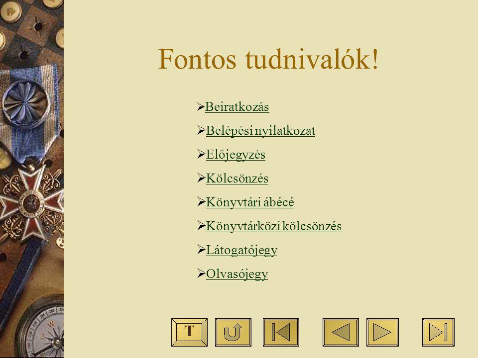 Szerzõi katalógus: a betûrendes leíró katalógus egyik fajtája.