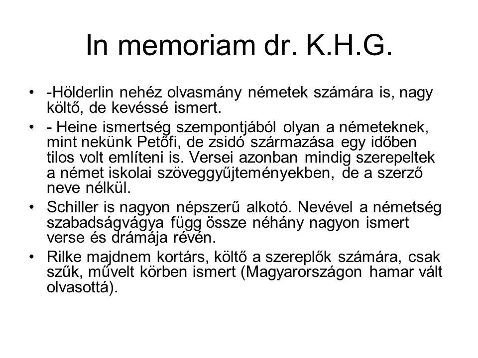 In memoriam dr.K.H.G.