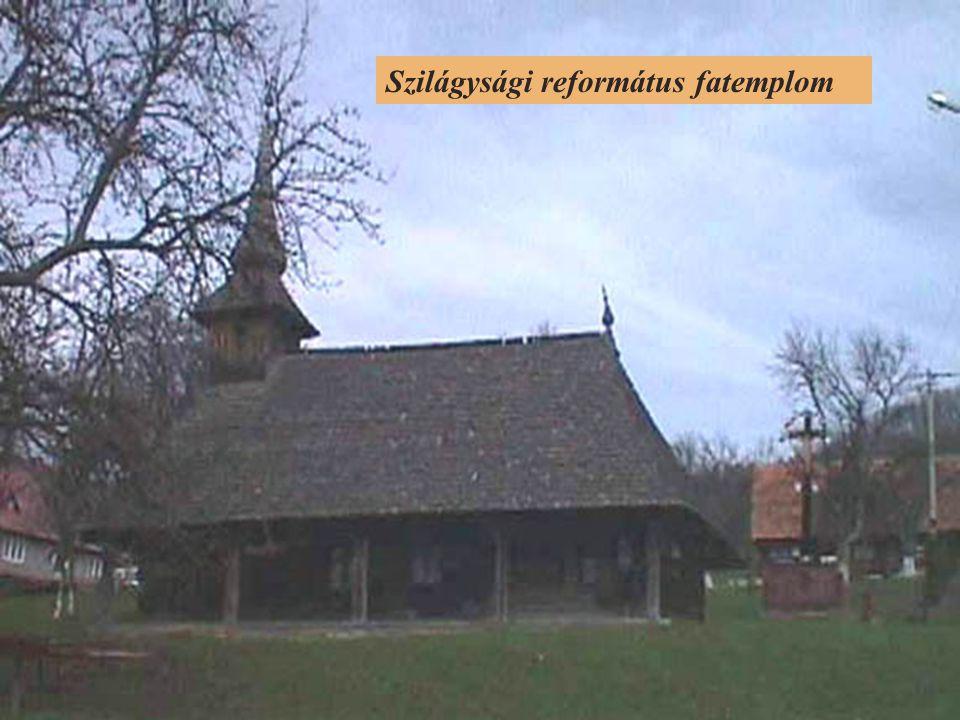 Szilágysági református fatemplom