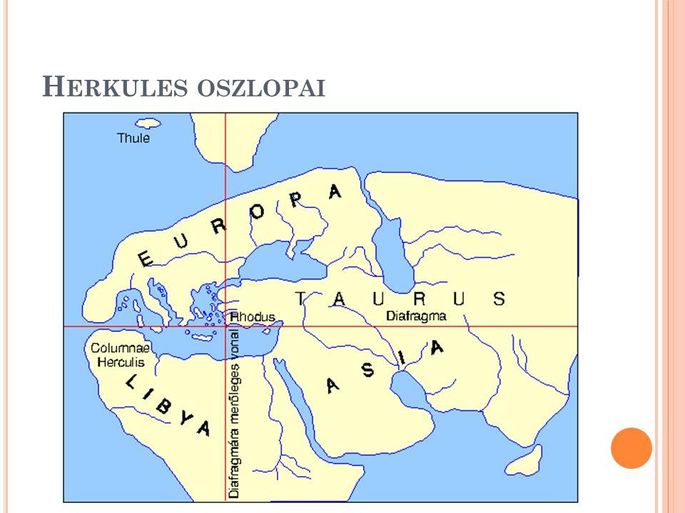 H ERKULES OSZLOPAI