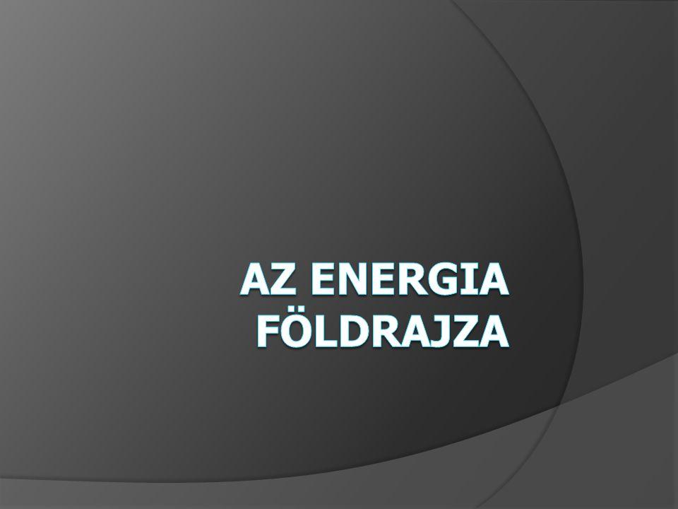 Fosszilis energiaforrások: gáz fogyasztási igény