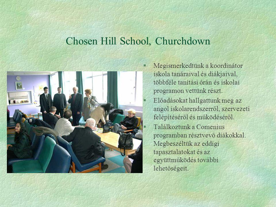§Megismerkedtünk a koordinátor iskola tanáraival és diákjaival, többféle tanítási órán és iskolai programon vettünk részt.