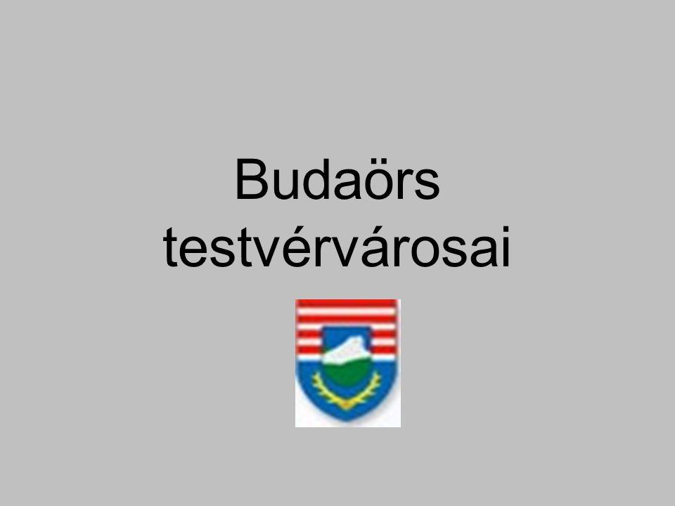 Budaörs testvérvárosai