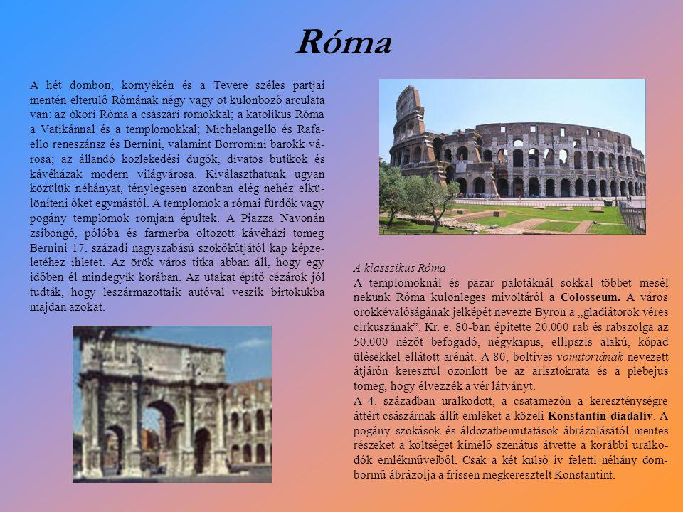 A Forum Romanum boltívei, oszlopai és oszlopcsarnokai között állva, a pajkos képzelet segítségével kirajzolhatjuk magunknak egy óriási császárváros központját.