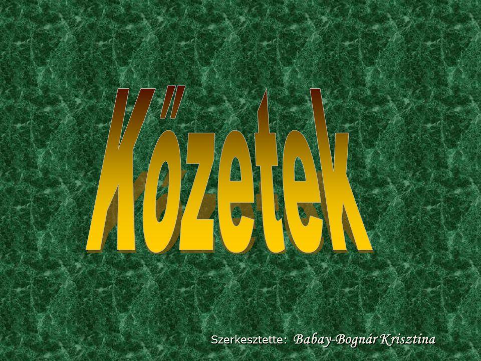 Szerkesztette: Babay-Bognár Krisztina