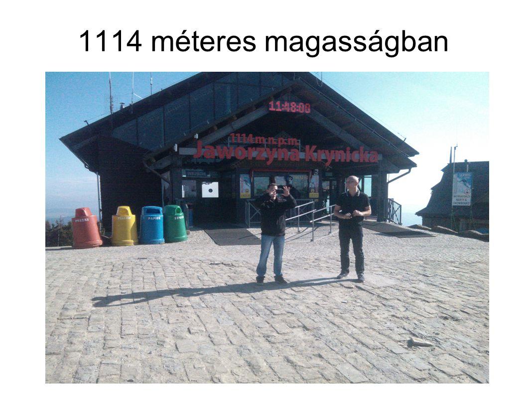 1114 méteres magasságban