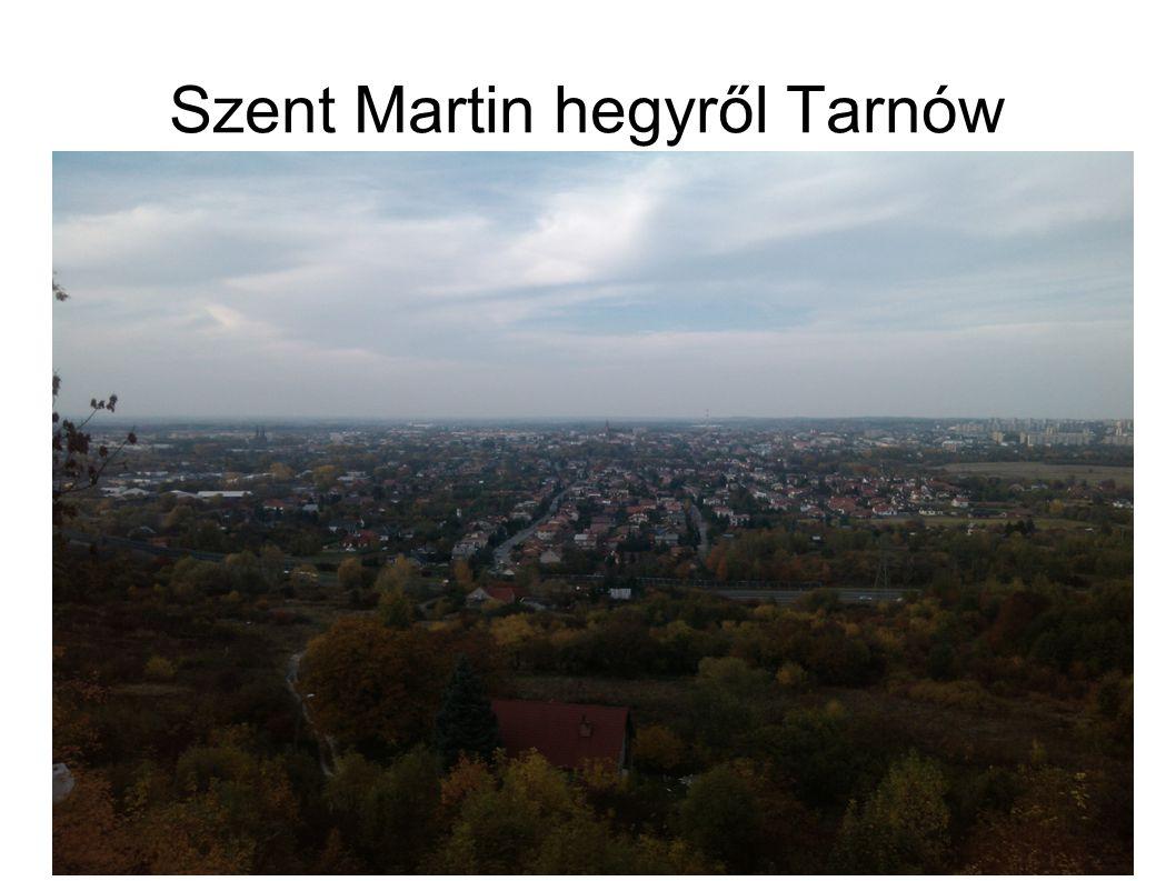 Szent Martin hegyről Tarnów