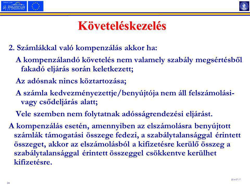 34 2014.07.17.Követeléskezelés 2.
