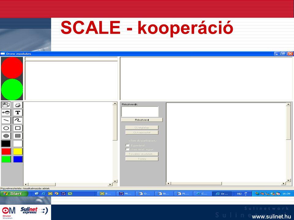 www.sulinet.hu Future Learning Environment (http:// fle3.uiah.fi /) A számítógéppel támogatott kollaboratív tanulás eszköze Virtuális osztályterem Kommunikáció és kooperáció az iskolák között Kuckó – Tudásfa - Ötletbörze
