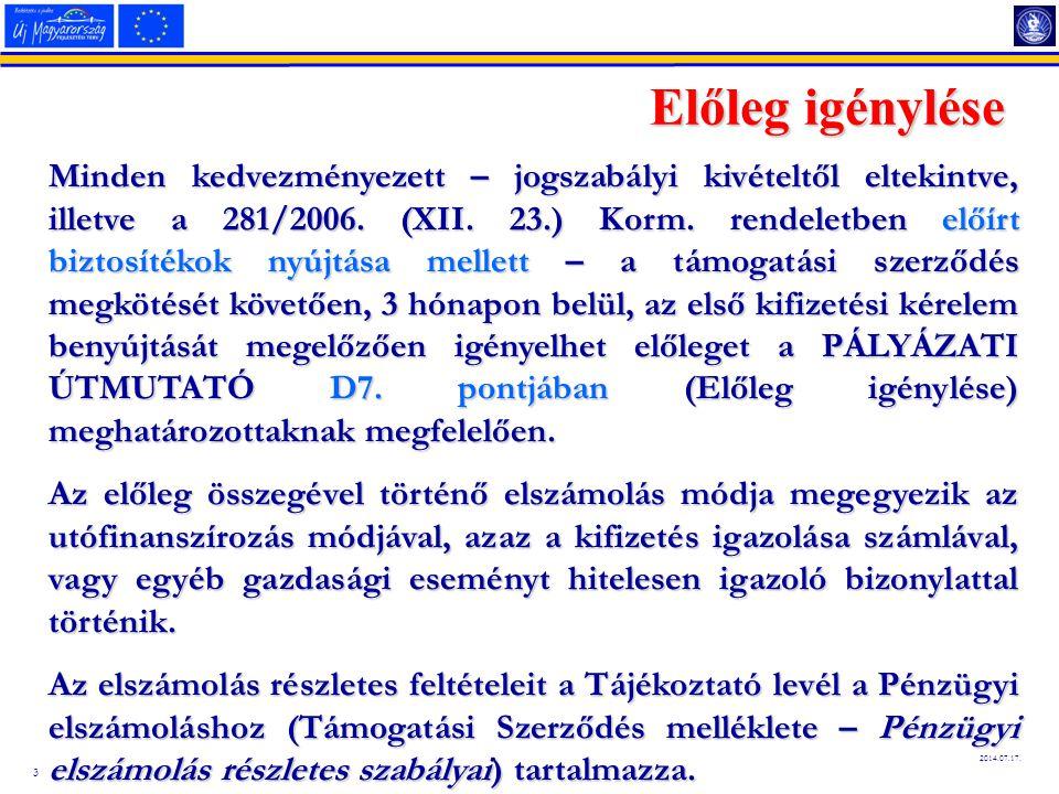 4 2014.07.17. Támogatási Szerződés Módosítása