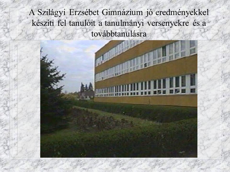 A Szilágyi Erzsébet Gimnázium jó eredményekkel készíti fel tanulóit a tanulmányi versenyekre és a továbbtanulásra