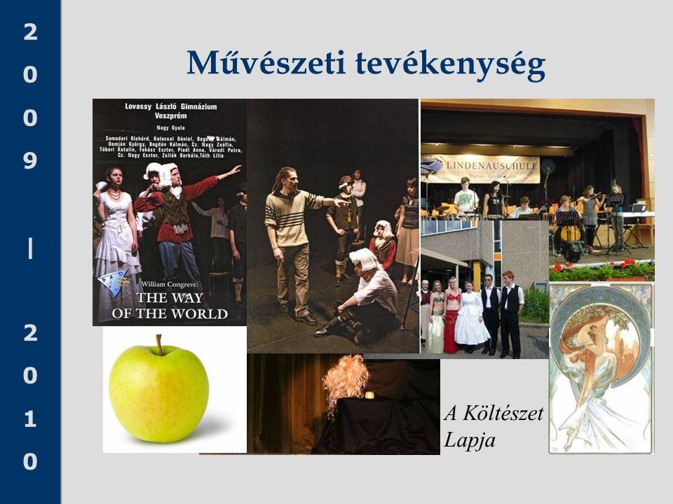 2009|20102009|2010 Művészeti tevékenység A Költészet Lapja