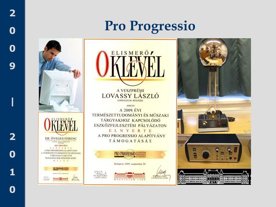 2009|20102009|2010 Pro Progressio