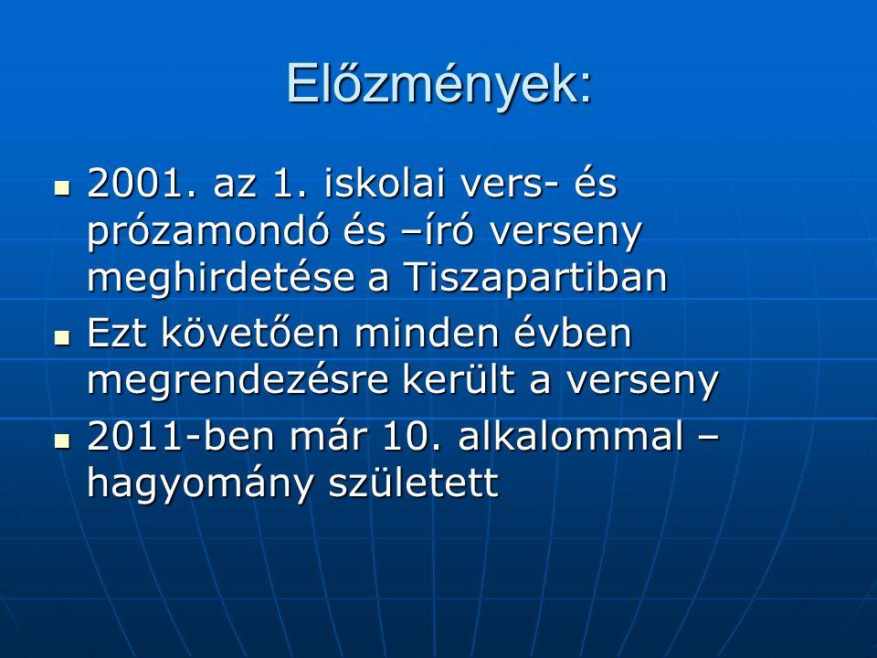 Előzmények: 2001. az 1.