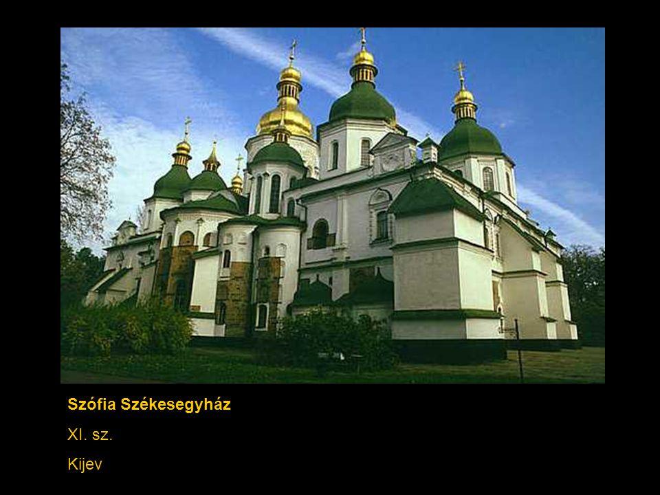 Szófia Székesegyház XI. sz. Kijev
