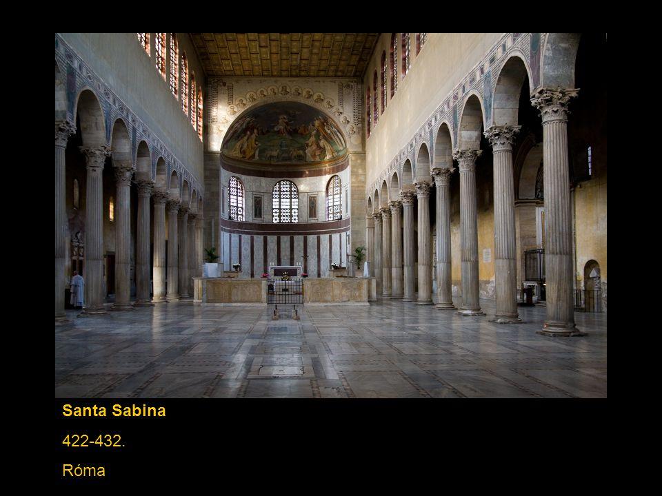Santa Sabina 422-432. Róma