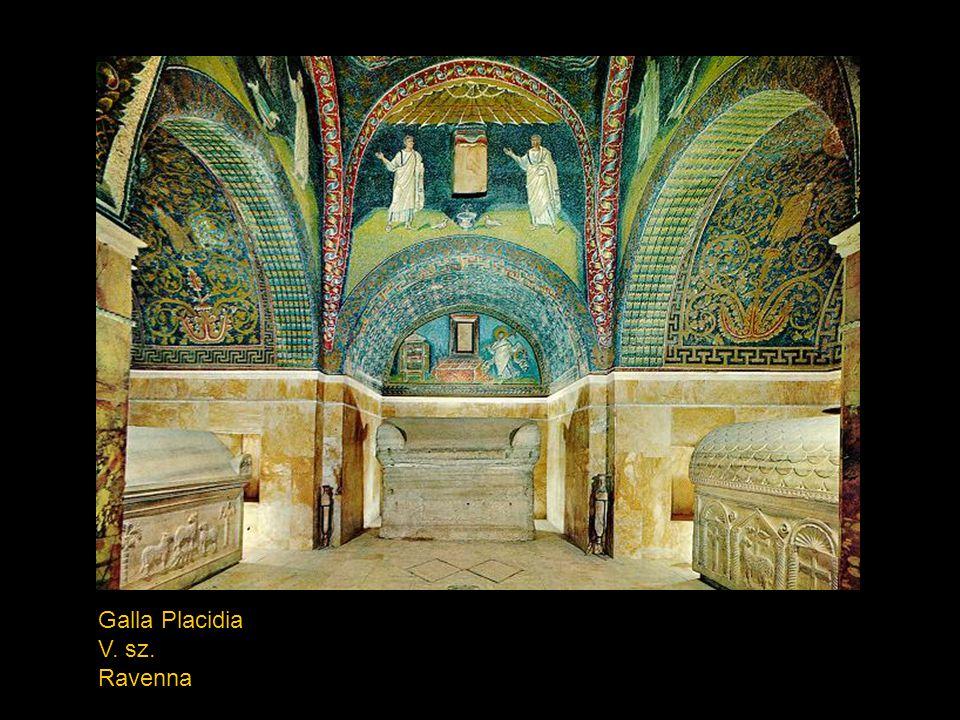 (Andrej) Rubljov: Szentháromság 1430 k. Moszkva, Tretyakovszkaja Galerija