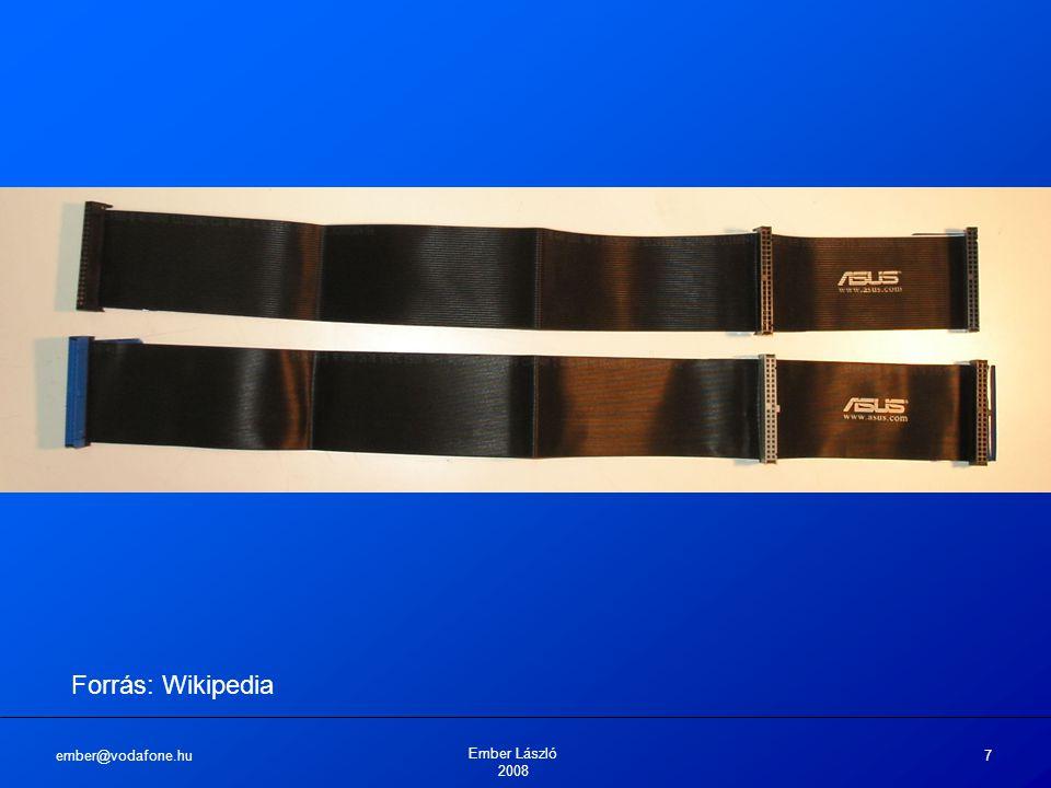 """ember@vodafone.hu Ember László 2008 8 Lemezkezelési szabványok: SCSI 1981-ben fejlesztették ki eredetileg: SASI , the Shugart Associates System Interface"""" névvel"""