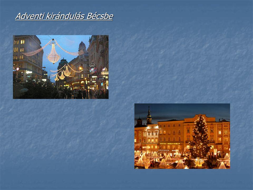 Adventi kirándulás Bécsbe