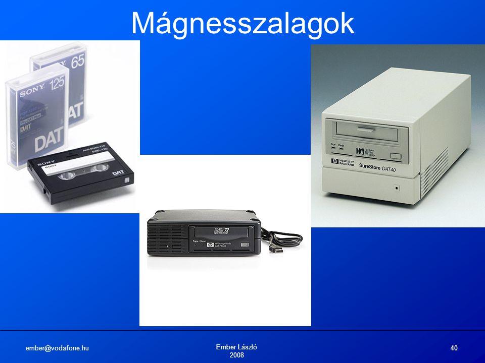 ember@vodafone.hu Ember László 2008 40 Mágnesszalagok