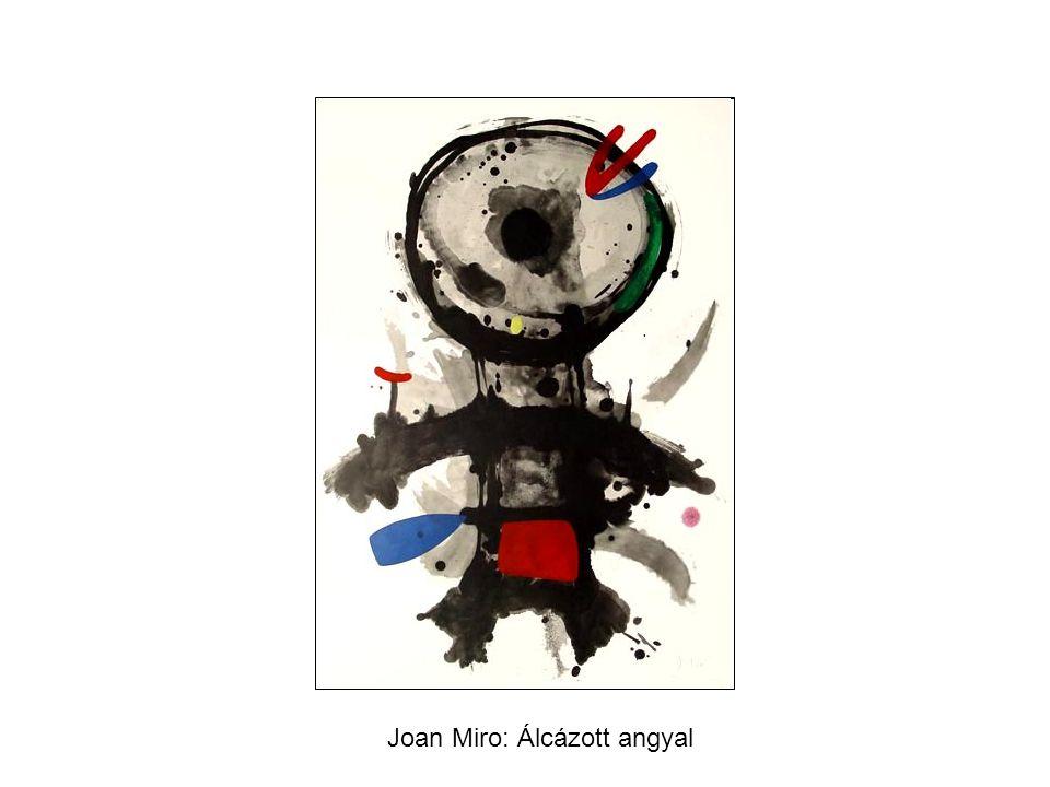 Joan Miro: Álcázott angyal
