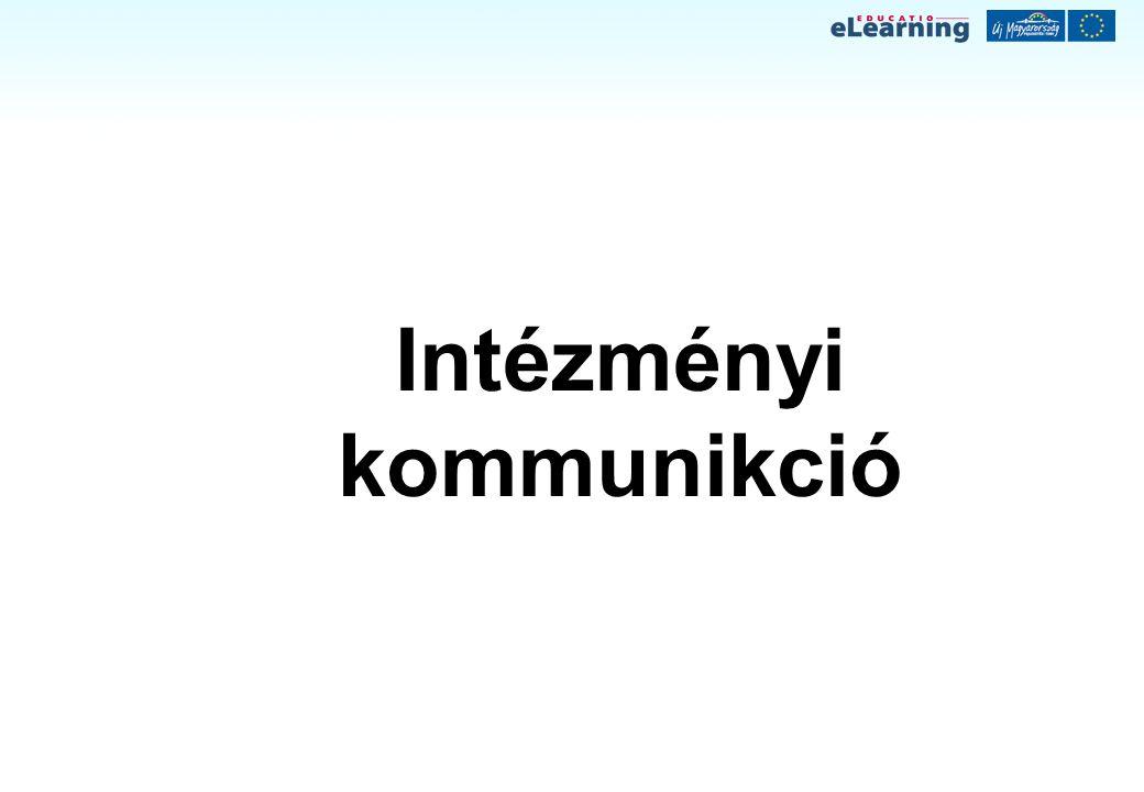 Intézményi kommunikció