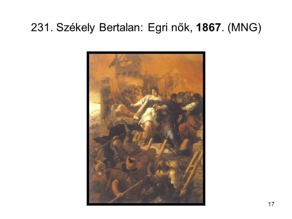 17 231. Székely Bertalan: Egri nők, 1867. (MNG)