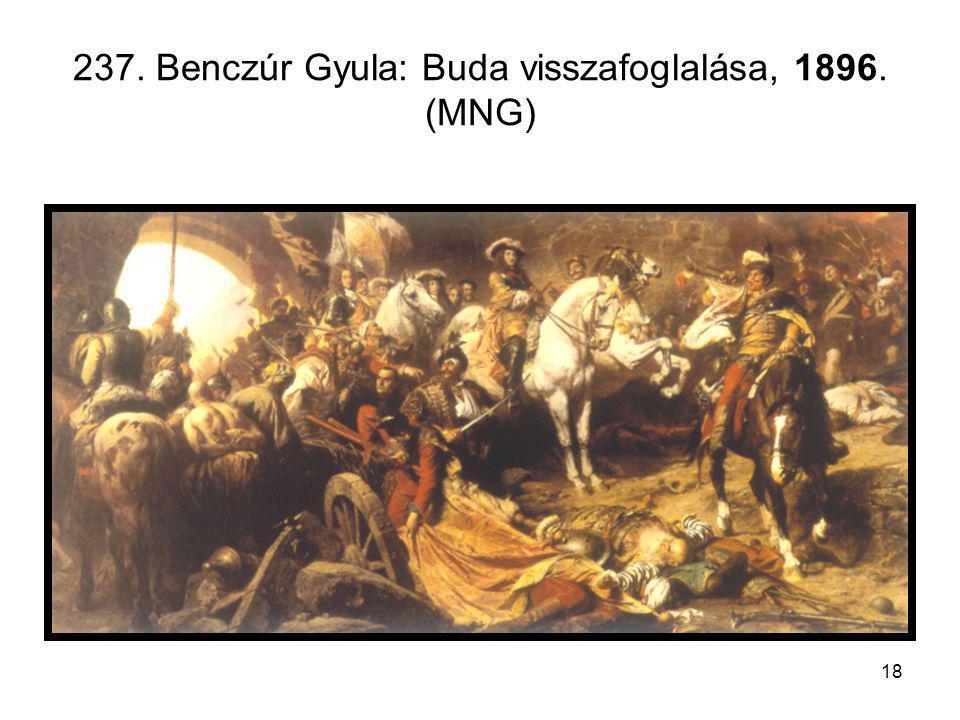 18 237. Benczúr Gyula: Buda visszafoglalása, 1896. (MNG)