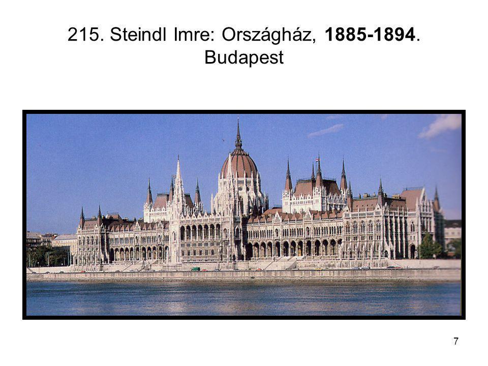 8 216.A budavári Nagyboldogasszony plébániatemplom (Mátyás templom), XIII-XV.