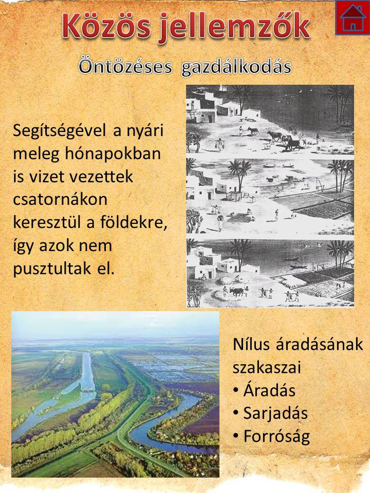Segítségével a nyári meleg hónapokban is vizet vezettek csatornákon keresztül a földekre, így azok nem pusztultak el.