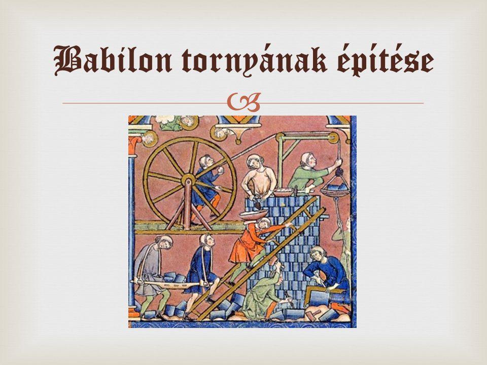  Babilon tornyának építése
