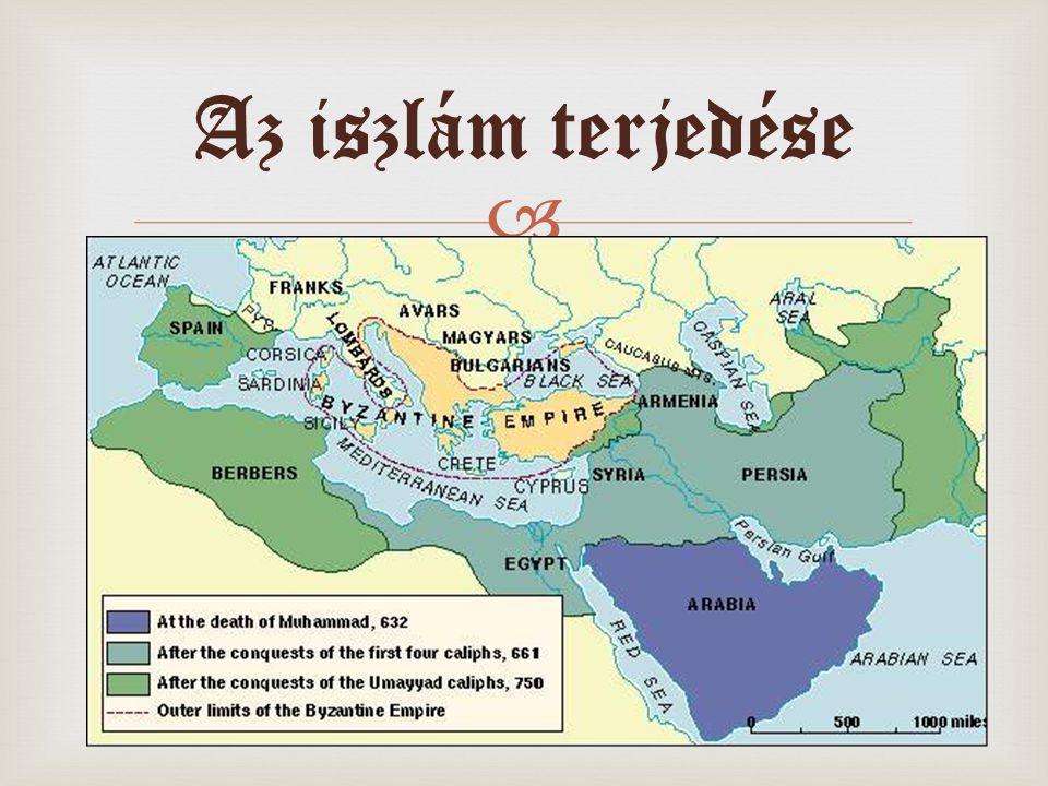  Az iszlám terjedése