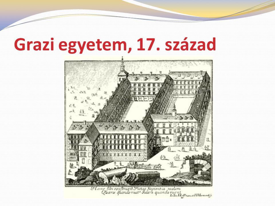 Grazi egyetem, 17. század