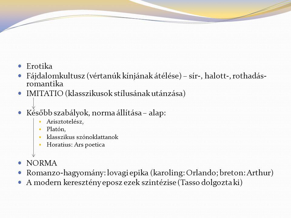 Magyar barokk irodalom Eposz - a magyar barokk legfontosabb műve Zrínyi Miklós Szigeti veszedelem c.