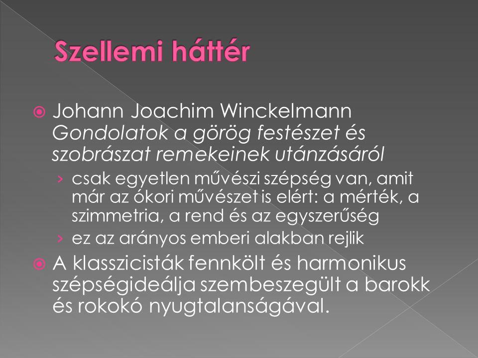  Johann Joachim Winckelmann Gondolatok a görög festészet és szobrászat remekeinek utánzásáról › csak egyetlen művészi szépség van, amit már az ókori