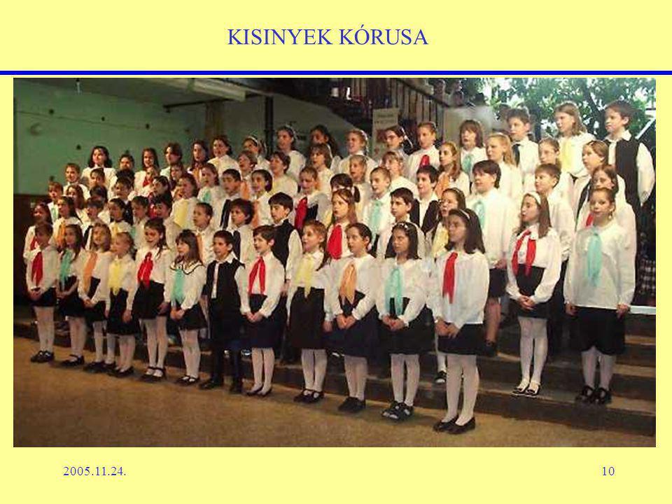 2005.11.24.10 KISINYEK KÓRUSA