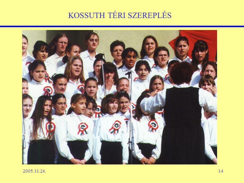 2005.11.24.14 KOSSUTH TÉRI SZEREPLÉS