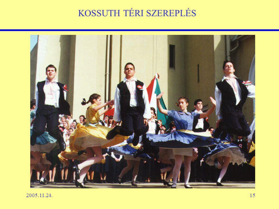 2005.11.24.15 KOSSUTH TÉRI SZEREPLÉS