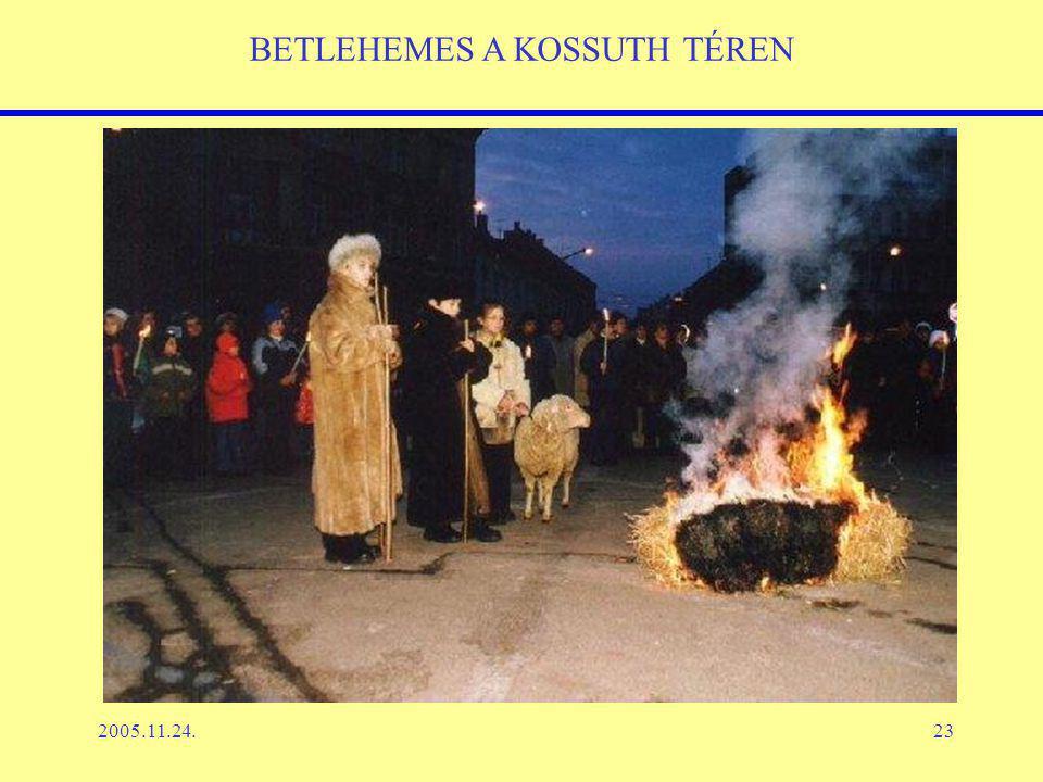 2005.11.24.23 BETLEHEMES A KOSSUTH TÉREN