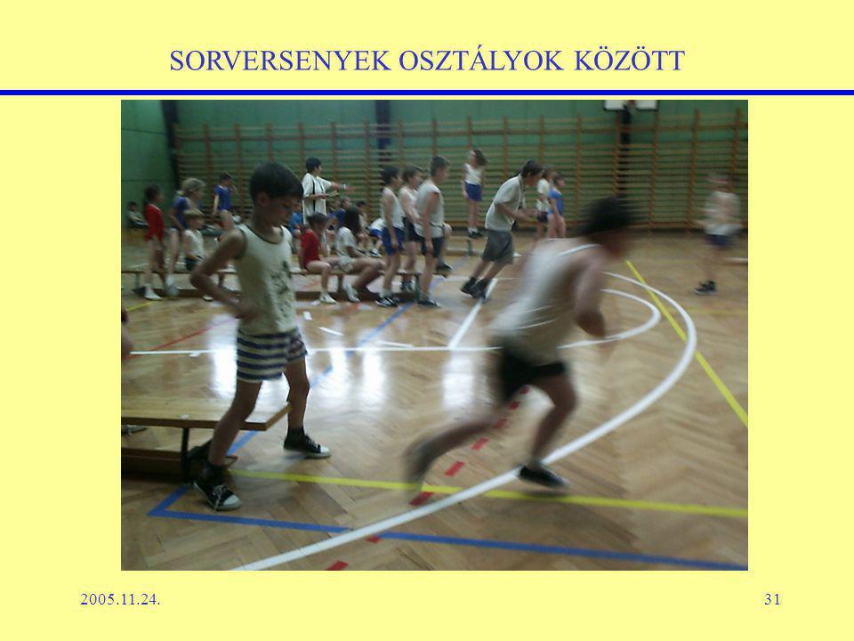 2005.11.24.31 SORVERSENYEK OSZTÁLYOK KÖZÖTT