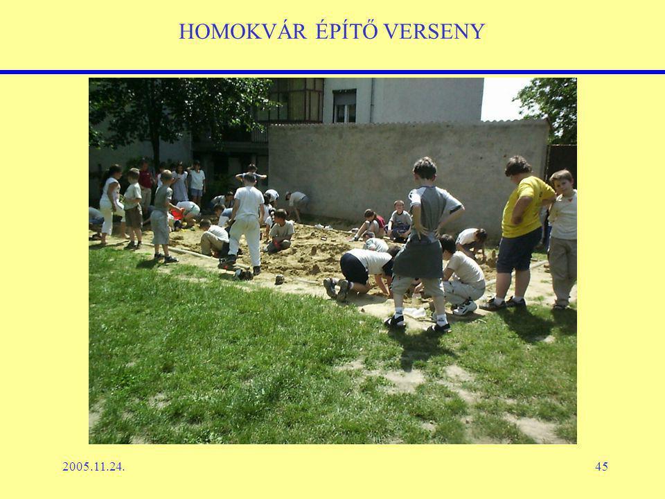 2005.11.24.45 HOMOKVÁR ÉPÍTŐ VERSENY