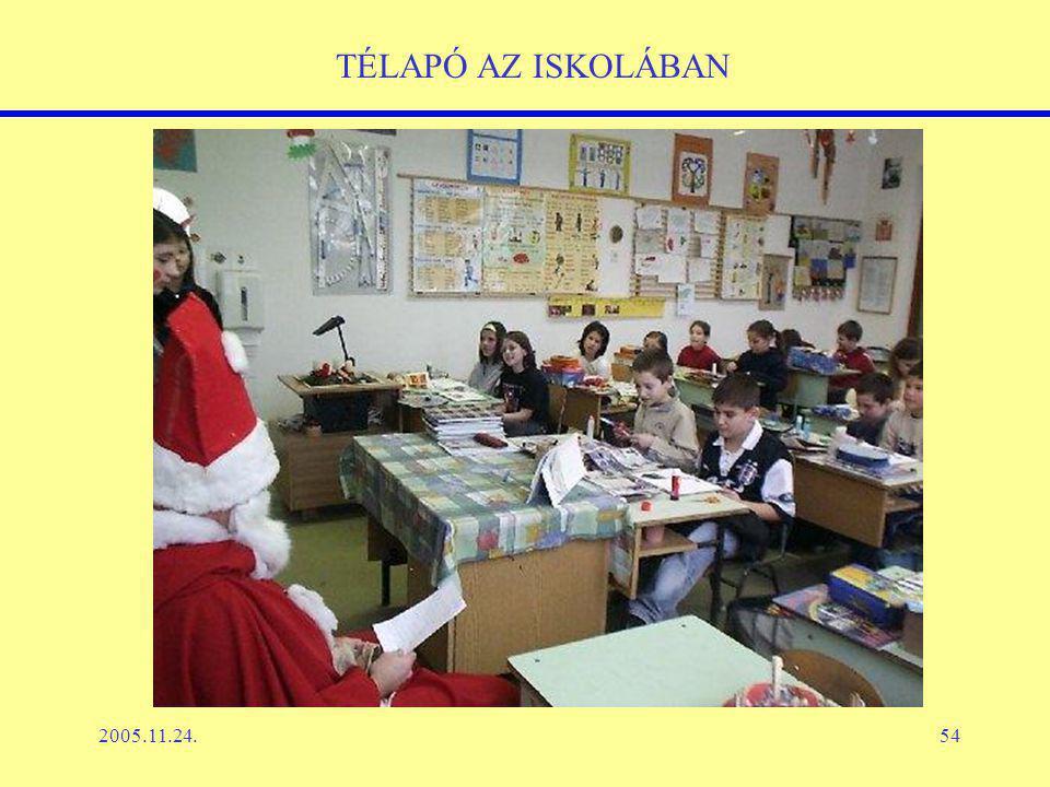 2005.11.24.54 TÉLAPÓ AZ ISKOLÁBAN